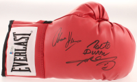Sugar Ray Leonard, Thomas Hearns & Roberto Duran Signed Everlast Boxing Glove (Beckett COA) at PristineAuction.com