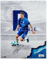 Christian Pulisic Signed Chelsea 16x20 LE Photo (Panini COA) at PristineAuction.com
