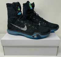 Kobe Bryant Signed Pair of Nike Kobe Elite X Basketball Shoes (Panini COA) at PristineAuction.com