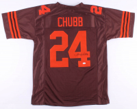 Nick Chubb Signed Jersey (JSA COA) at PristineAuction.com