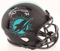 Ricky Williams Signed Dolphins Eclipse Alternate Speed Mini Helmet (Schwartz COA) at PristineAuction.com