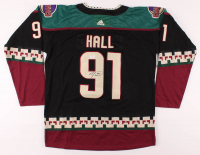 Taylor Hall Signed Coyotes Jersey (PSA COA) at PristineAuction.com