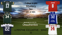 OKAUTHENTICS College to Pro Football & Basketball Jersey Mystery Box - Series 3 at PristineAuction.com