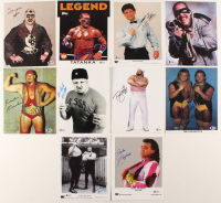 Lot of (10) Signed WWE 8x10 Photos with Smash, Brutus Beefcake, Tatanka, Ax, Danny Davis, Bobby Fulton (Beckett COA) at PristineAuction.com