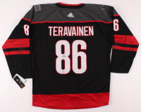 Teuvo Teravainen Signed Hurricanes Jersey (Beckett COA) at PristineAuction.com