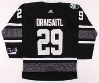 Leon Draisaitl Signed Oilers 2019 All-Star Jersey (JSA COA) at PristineAuction.com