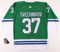 Andrei Svechnikov Signed Whalers Jersey (Beckett COA) at PristineAuction.com