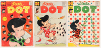 """Lot of (3) Vintage 1958-59 """"Little Dot"""" Harvey Comic Books with Isues #38, #39, #41 at PristineAuction.com"""