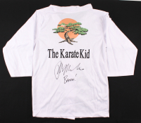 "Ralph Macchio Signed ""Karate Kid"" Gi Jacket Inscribed ""Banzai!"" (JSA COA) at PristineAuction.com"