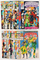 """Lot of (26) 1990-95 """"Guardians of the Galaxy"""" Marvel Comic Books at PristineAuction.com"""