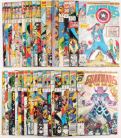 """Lot of (38) 1990-95 """"Guardians of the Galaxy"""" Marvel Comic Books at PristineAuction.com"""
