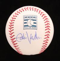 Eddie Vedder Signed OML Hall of Fame Baseball (Beckett LOA) at PristineAuction.com