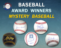 Schwartz Sports Baseball Award Winner Baseball Mystery Box - Series 8 (Limited to 75) at PristineAuction.com