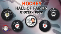 Schwartz Sports Hockey Hall of Famer Signed Logo Hockey Puck Mystery Box - Series 10 (Limited to 100) at PristineAuction.com