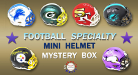 Schwartz Sports Football Superstar Signed Specialty Mini Helmet Mystery Box - Series 5 (Limited to 100) at PristineAuction.com