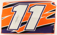 Denny Hamlin Signed Race-Used 2018 Dover #11 FedEx Full Door Sheet Metal (PA COA) at PristineAuction.com