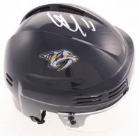 Viktor Arvidsson Signed Predators Mini Helmet (JSA COA) at PristineAuction.com