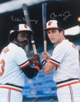 Cal Ripken Jr. & Eddie Murray Signed Orioles 16x20 Photo (JSA COA) at PristineAuction.com