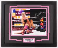 Charlotte Flair Signed WWE 18x22 Custom Framed Photo Display (JSA COA) at PristineAuction.com