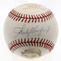 Sandy Koufax Signed LE ONL Baseball Hand-Decorated by Gregg Packer (Steiner Hologram) at PristineAuction.com