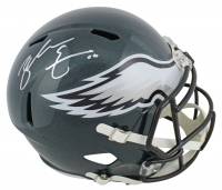 Zach Ertz Signed Eagles Full Size Speed Helmet (Beckett COA & Radtke Hologram) at PristineAuction.com