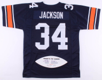 """Bo Jackson Signed LE Jersey with Career Stat Football Panel Inscribed """"Heisman 85"""" (JSA Hologram) at PristineAuction.com"""