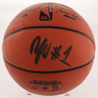 Zion Williamson Signed NBA Game Ball Series Basketball (Beckett COA) at PristineAuction.com