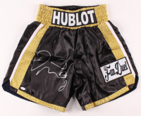 Floyd Mayweather Jr. Signed Boxing Trunks (JSA COA) at PristineAuction.com