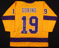 Butch Goring Signed Jersey (JSA COA) at PristineAuction.com