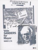 Bernie Sanders Signed 8x10 Print (Beckett COA) at PristineAuction.com