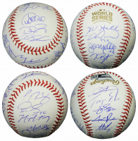 2016 Cubs World Series Baseball Team-Signed by (23) with Kris Bryant, Anthony Rizzo, Ben Zobrist, Javier Baez (Schwartz Sports COA & Fanatics Hologram) at PristineAuction.com