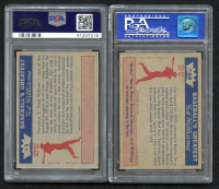 Lot of (2) PSA Graded 8 1959 Fleer Ted Williams Baseball Cards with #1 The Early Years & #68 Ted Signs For 1959 at PristineAuction.com