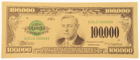 1928 $100,000 One Hundred Thousand Dollars Gold Certificate - Woodrow Wilson at PristineAuction.com