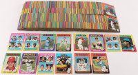 1975 Topps Complete Set of (660) Baseball Cards with #660 Hank Aaron, #223 Robin Yount RC, #228 George Brett RC, #320 Pete Rose, #70 Mike Schmidt at PristineAuction.com