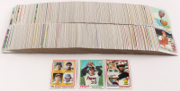1978 Topps Complete Set of (727) Baseball Cards with #707 Rookie Shortstops / Mickey Klutts / Paul Molitor RC / Alan Trammell RC, #36 Eddie Murray RC, #400 Nolan Ryan at PristineAuction.com