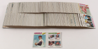 Complete Set of (660) 1977 Topps Baseball Cards with #650 Nolan Ryan, #473 Rookie Outfielders / Andre Dawson at PristineAuction.com