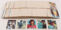 Complete Set of (630) 1976 SSPC Baseball Cards With #506 Dennis Eckersley, #238 Robin Yount, #167 George Brett, #239 Hank Aaron, & #187 Nolan Ryan at PristineAuction.com