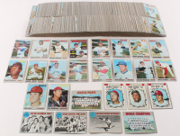 Complete Set of (720) 1970 Topps Baseball Cards with #580 Pete Rose, #211 Ted Williams, #10 Carl Yastrzemski, #230 Brooks Robinson, #290 Rod Carew, #220 Steve Carlton at PristineAuction.com