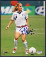Heather Mitts Signed Team USA 8x10 Photo (PSA COA) at PristineAuction.com