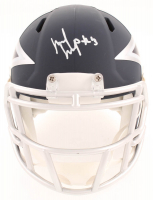 Michael Gallup Signed Cowboys AMP Alternate Speed Mini Helmet (JSA COA) at PristineAuction.com