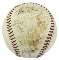 1935 National League All-Stars ONL Baseball Team-Signed by (22) with Joe Medwick, Mel Ott, Carl Hubbell, Gabby Hartnett & Paul Waner (PSA LOA) at PristineAuction.com