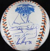 1992 National League All-Stars Baseball Team-Signed by (21) with Ryne Sandberg, Tony Gwynn, Ozzie Smith, Bobby Cox, Tom Glavine (PSA COA) at PristineAuction.com