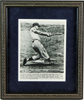 "Roger Maris Signed Yankees 13x16 Custom Framed Photo Display Inscribed ""Best Wishes Always"" (PSA LOA) at PristineAuction.com"