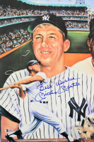 "Mickey Mantle Signed Yankees 11x17 Photo Inscribed ""Best Wishes"" (Beckett LOA) at PristineAuction.com"