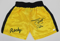 Sylvester Stallone Signed Boxing Trunks (Beckett COA) at PristineAuction.com