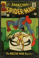 "Stan Lee Signed 1966 ""The Amazing Spiderman"" Issue #35 Marvel Comic Book (PSA LOA) at PristineAuction.com"