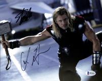"Stan Lee & Chris Hemsworth Signed ""Thor"" 8x10 Photo (Beckett COA) at PristineAuction.com"