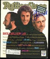 Roger Daltrey & John Entwistle Signed 1989 Rolling Stone Magazine (PSA LOA) at PristineAuction.com