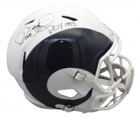 "Jerome Bettis Signed Rams Full-Size AMP Alternate Speed Helmet Inscribed ""ROY 1993"" (Beckett COA) at PristineAuction.com"