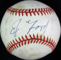 Gerald Ford Signed ONL Baseball (PSA LOA) at PristineAuction.com